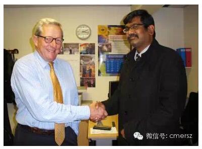由David Taylor教授代表国际眼科委员会(ICO) ,委任卡医生为2010-2012年尼泊尔区协调主任